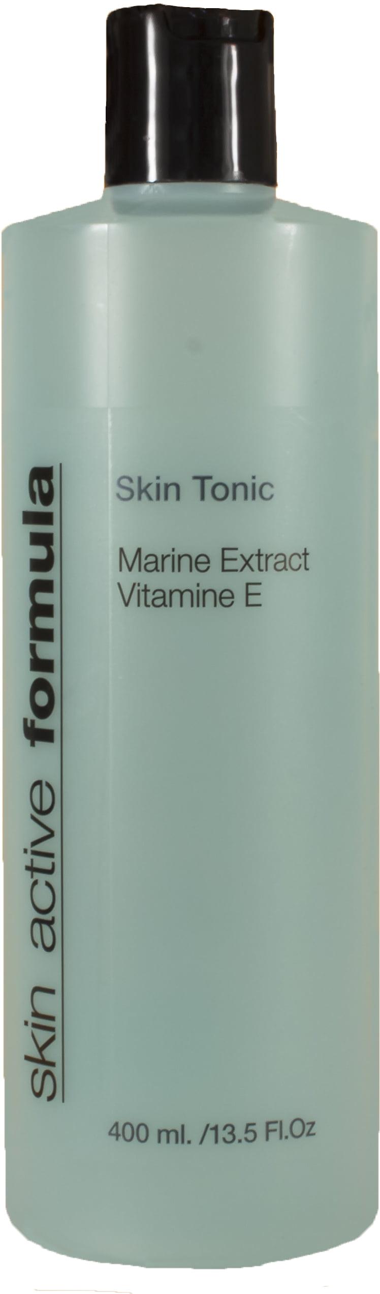 Skin Active Formula Skin Tonic 400 ml – Marine Extract – Vitamin E