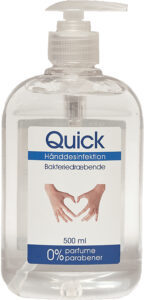Quick Hand disinfection 500 ml
