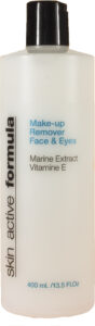Skin Active Formula Make-Up Remover 400 ml – Face & Eyes – Marine Extract – Vitamin E
